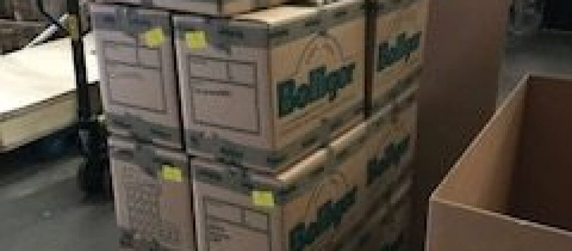Packing boxes Bolliger Removals and Storage London